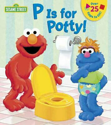 NEW P is for Potty By Naomi Kleinberg Board Book Free Shipping