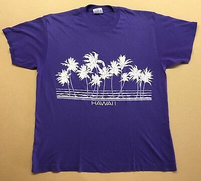 Vintage 80's Hawaii Souvenir T-Shirt / Made in USA