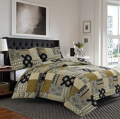 Luxury 100% Egyptian Cotton Printed Duvet Cover Sets Bedding Sets (All Sizes