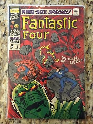 Fantastic Four Annual 6 1st Annihilus and Franklin! CGC It! 1968 Kingsize