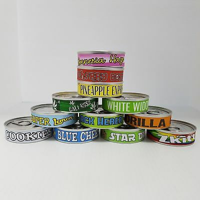 Cannabis Labels Your Choices Press It In  Tuna Tin 100ml/3.5g Tin Labels 10 Sets