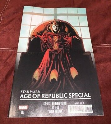STAR WARS Age of Republic SPECIAL #1 Greatest Moments VARIANT 2019 Marvel Comics