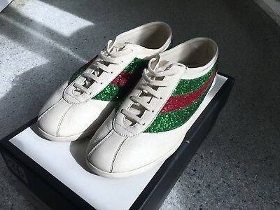 95092da2f35 ... US 11M Black Suede Bamboo Horse Bit Loafers-Need New Soles.  139.95 Buy  It Now 15d 23h. See Details. Gucci Mens Off-White Glitter Falacer Sneakers  Size ...