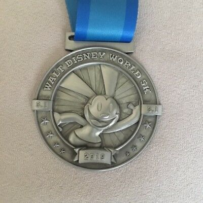 runDisney WDW Marathon Weekend 2019 Oswald 5K Medal, actual medal not a replica