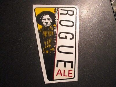 ROGUE ALE tap handle STICKER decal craft beer brewing