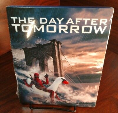The Day after tomorrow(Blu-ray)Deadpool photobomb Slipcover-NEW-Free S&H w/Track