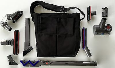 $300. NEW 10-Pc DYSON Home & Car Cleaning Kit-Turbine-Carbon-Bristle-Carpet-Tool