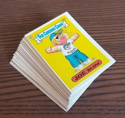 1986 The Garbage Gang Series 3 - 43 Cards inc doubles (AU Series) **Free Post **