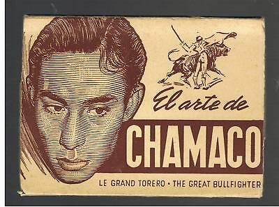 SET OF 9 SPANISH MATADOR CARDS - The Great Bullfighter (Vintage)