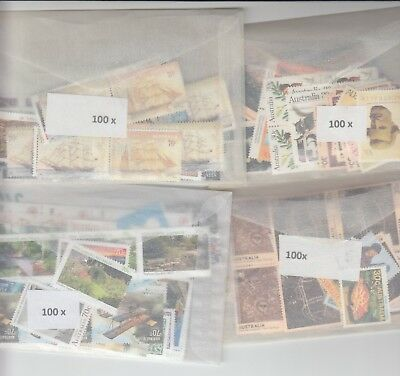 Australia postage stamps with gum face value $200  (2 stamp combo to make $1)cm