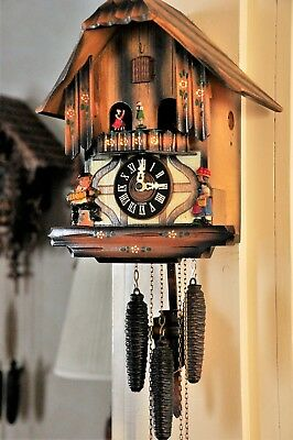 Musical cuckoo clock; Plays The Happy Wanderer; (See Video)