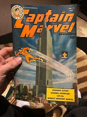 Captain Marvel Adventures #72 1947