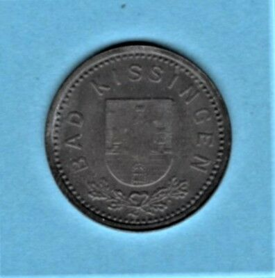 vad - KISSINGEN - 5 PFENNIG 1919 NOTGELD COIN - 7  *** VERY RARE ***