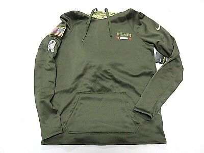 fa4ac59f2 NWT NFL NIKE Green Tampa Bay Buccaneers Salute to service Hoodie womens  Size Med