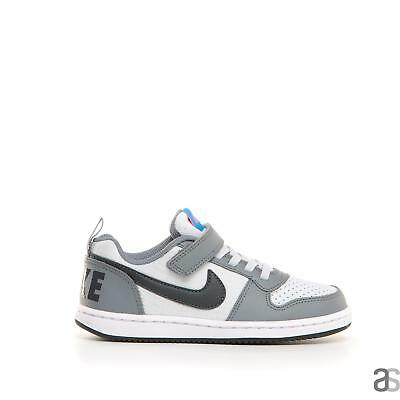 cb91eb7fd9 NIKE COURT BOROUGH FAIBLE TDV GRIS Baskets Fille Chaussures Bébé ...