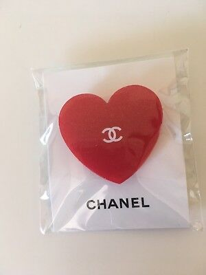 Chanel Coco Rouge Heart Badge Vip Gift New & Authentic