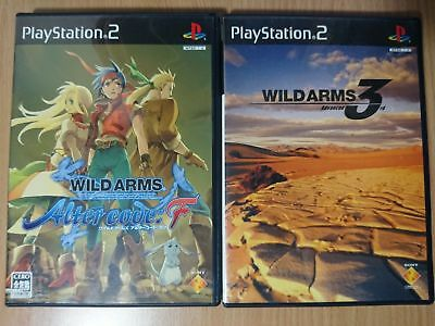 SET/LOT PS2 2x Games: Wild ARMS 3 (III) + Alter Code: F RPG SONY PLAYSTATION 2