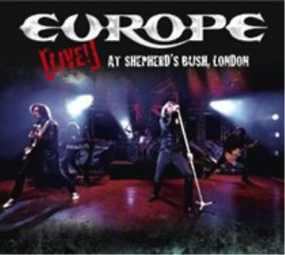 Europe-Live at Shepherd's Bush, London (UK IMPORT) CD with DVD NEW