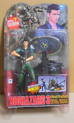 Moby Dick Resident Evil Biohazard Real Shock Action Figure Series 7 Chris