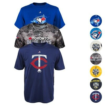 MLB Various Team Graphic T-Shirt by Majestic Collection Youth Size (S-XL)