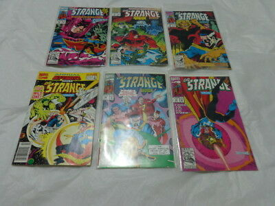 Lot of 5 Dr. Strange #36, 40,42,43,46 and The Return of the Defenders part 4