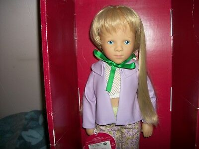 "Gotz 19.5"" Artist Doll by Sylvia Natterer Carina 0284623 w/Box/Tags/NewOutfit"