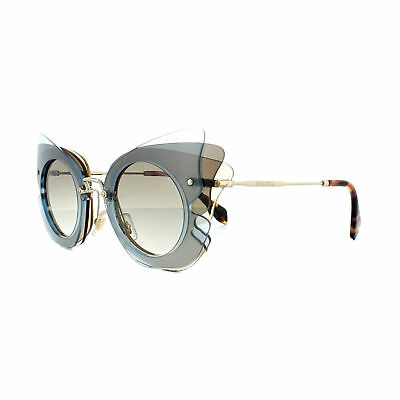 3eb6da48234 MIU MIU REVEAL Shield Square Oversized Sunglasses MU04RS Lilac ...