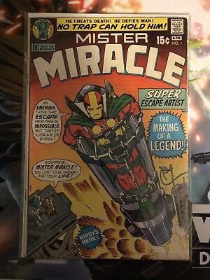 Mister Miracle #1 (Apr 1971, DC) Fine Condition
