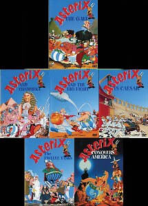 Asterix - 6 Dvd Set - All New Dvd's Free Local Post