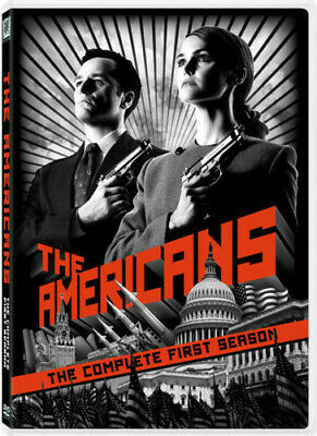 The Americans: The Complete First Season (DVD, 2014, 4-Disc Set)