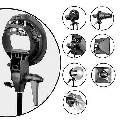PRO Godox S-Type Bracket Bowens Mount Holder for Snoot Speedlight Flash Softbox