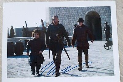 Autograph Peter Dinklage as Tyrion HAND SIGNED COA UACC 8x10 Game of Thrones