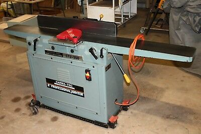 """Carbatec 8"""" Long Bed Jointer / Planer Ctj-350 Spiral Head"""