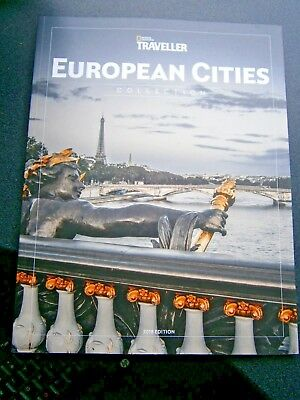 National Geographic Traveller Magazine European Cities Collection 2018 (New)