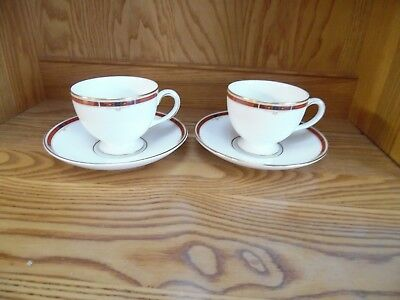 Wedgwood Tea Cup and Saucer - Set of Two - Colorado