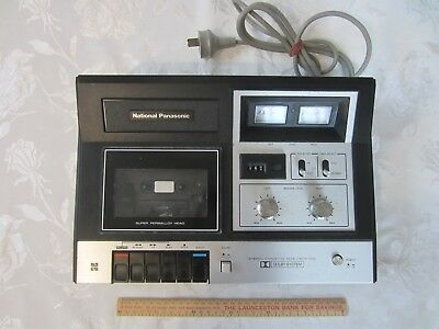 National Panasonic Dolby Stereo Cassette Tape Deck 269 Does Have A Fault