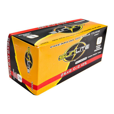 DZ1368 Bicycle Cycle bike 26 Inch Inner Tube 26x1.9//2.125 Presta Valve 32mm ♫