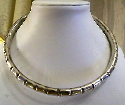Silver Necklace indian silver Collana in argento