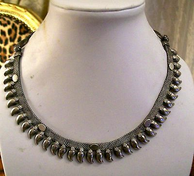 collana in argento donna Silver Necklace indian silver Collana in argent