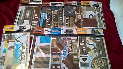 superquick model kits buildings railway OO HO card job lot x8 NEW sealed joblot