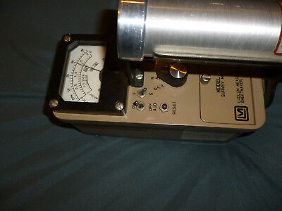 Ludlum Model 3 Geiger Counter Survey Meter with 44-7 Probe. Beautiful condition.
