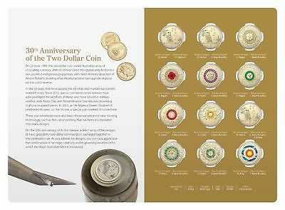 2018 30th Anniversary of the $2 Two Dollar Coin Set Australia