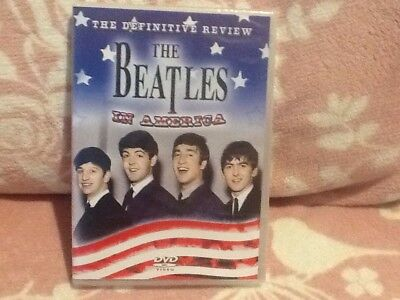 The Beatles in America: The Definitive Review (DVD) New sealed