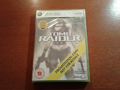 Xbox 360 tomb raider  promo promotional full game new factory sealed mint