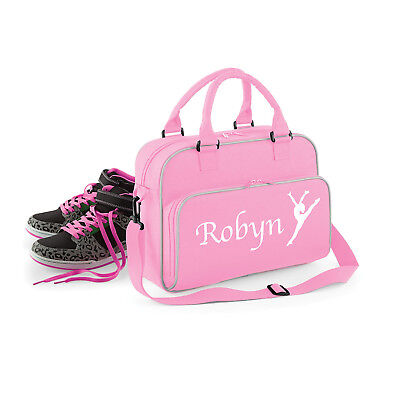 Personalised with your Name Gym Dance sports gymnastics Karate School Bag