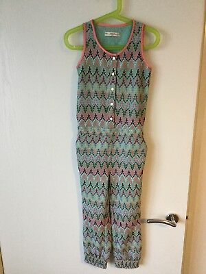 Excellent Condition Girls Supertrash Jumpsuit Age 6