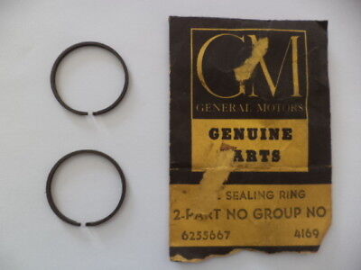 1960-1963 Corvair Powerglide Transmission Clutch Drum Oil Seal Rings Gm 6255667
