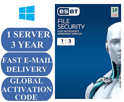 Eset File Security For Microsoft Windows Server - Global 2 Year License Key