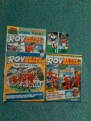 Roy of the Rovers 1986 comics