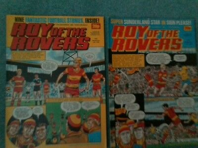 Roy of the Rovers comics 1983